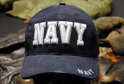 画像1: 帽子 メンズ ミリタリーキャップ NAVY ロゴ ROTHCO ロスコ ブランド 米海軍 公認 /ネイビー 紺