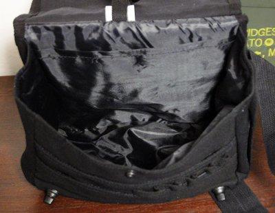 画像2: サバイバルバッグ ROTHCO ロスコ 社製 キャンバス地 メンズ ショルダーバッグ / ブラック 黒