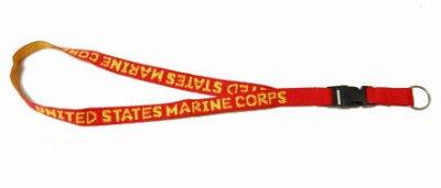 画像2: ネック ストラップ ROTHCO ロスコ ブランド U.S.MARINE 米海兵隊 レッド 赤 新品