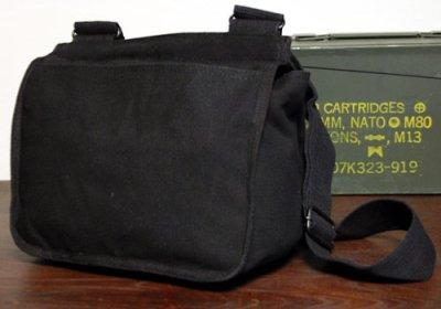 画像3: サバイバルバッグ ROTHCO ロスコ 社製 キャンバス地 メンズ ショルダーバッグ / ブラック 黒