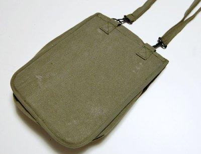 画像2: iPadに最適 ショルダーバッグ メンズ キャンバス地 ROTHCO ロスコ 社 ブランド マップバッグ  新品/オリーブ