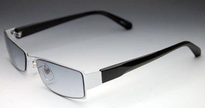 画像1: サングラス メンズ メタル 高品質 ライトスモークグラデーション 新品/哀川翔 Gackt タイプ