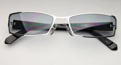 画像2: サングラス メンズ メタル 高品質 ライトスモークグラデーション 新品/哀川翔 Gackt タイプ