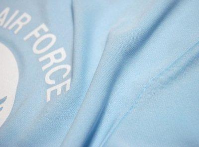 画像2: 水陸両用 ラッシュガード にも使える ドライ Tシャツ メンズ 半袖 USAF エアフォース / ライトブルー