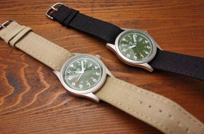 画像1: 腕時計 メンズ Smith & Wesson社 ブランド ミリタリーウォッチ ベルト3本セット 新品/オリーブ