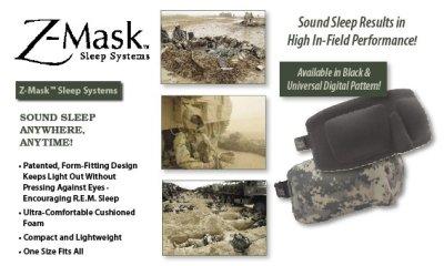 画像3: アイマスクの決定版!米軍採用のタクティカルマスク・McNETT社