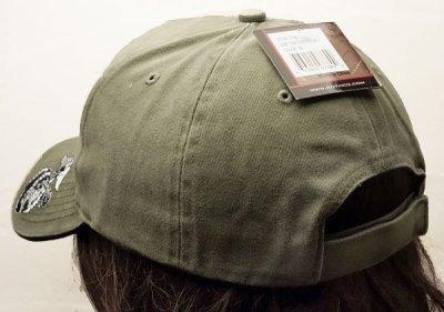 画像2: 帽子 メンズ ミリタリー キャップ ROTHCO ロスコ ブランド US MARINE オフィシャル USMC ロゴ /オリーブ