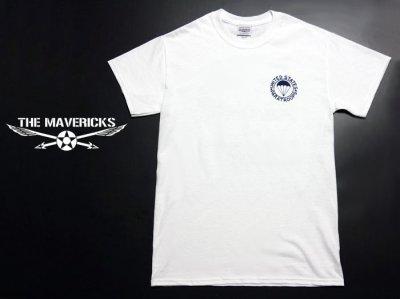 画像1: ミリタリーTシャツ 半袖 AIRBORNE エアボーン パラシュート部隊 / 白 ホワイト