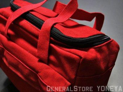 画像2: メカニック ツール バッグ 大 メンズ ロゴ 工具バッグ 工具箱 ROTHCO/ロスコ /赤 レッド