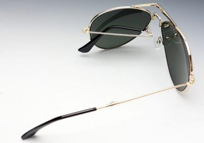 画像2: 折りたたみ ティアドロップ メタル サングラス メンズ ROTHCO ロスコ ケース付 新品