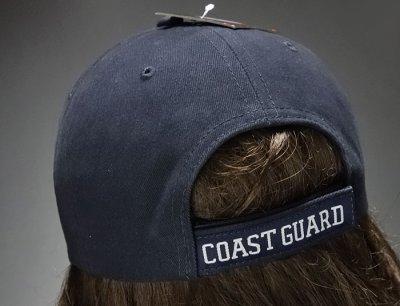 画像3: ミリタリー ベースボールキャップ メンズ ROTHCO社 ブランド /U.S.CoastGuard アメリカ沿岸警備隊/ネイビー 紺