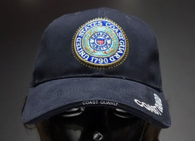 画像2: ミリタリー ベースボールキャップ メンズ ROTHCO社 ブランド /U.S.CoastGuard アメリカ沿岸警備隊/ネイビー 紺