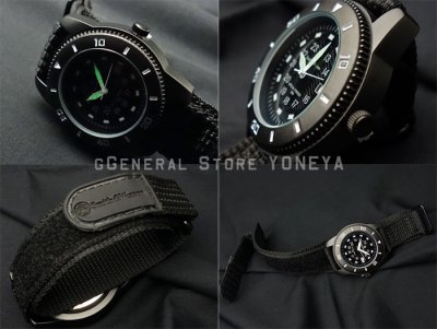 画像3: 腕時計 メンズ Smith&Wesson 社 ブランド コマンド ウォッチ 新品 / ブラック 黒