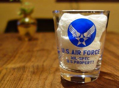 画像2: 日本製・「U.S.AIRFORCE」ミリタリーグラス・ブルー
