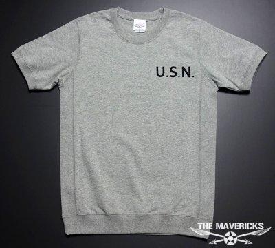 画像1: 極厚 スーパーヘビーウェイトTシャツ(サイドパネル仕様) 米海軍「CROAKER」モデル