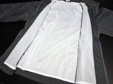 画像5: 在庫処分特価セール品!爆弾エアフォース ナイロンスタンドジャケット グレー (5)
