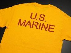 画像4: Tシャツ ミリタリー USマリン U.S.MARINE 米海兵隊 MAVERICKS ブランド / イエロー 黄 (4)