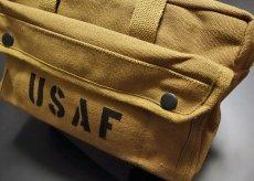 画像3: メカニック ツール バッグ メンズ USAF ロゴ 工具バッグ 工具箱 ROTHCO/ロスコ /コヨーテブラウン (3)