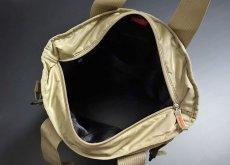 画像6: トートバッグ メンズ 大容量 大きめ ミリタリー ナイロン MA-1/ ベージュ (6)