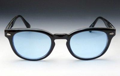 画像2: ボストン型 サングラス ジョニーデップ タイプ ブラック 黒 ブルー 青