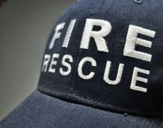 画像3: ROTHCO社製・「FIRE RESCUE(消防士)」ロゴ・ベースボールキャップ紺 (3)