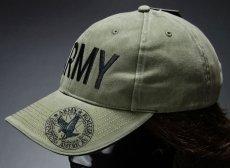 画像3: 帽子 メンズ ミリタリー キャップ ARMY ロゴ ROTHCO ブランド 米陸軍 ロスコ/オリーブ (3)