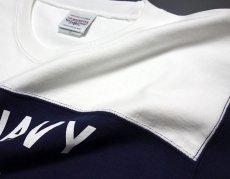 画像6: 極厚!スーパーヘビーウェイト・フットボールTシャツ!米海軍ペンギン「USS.PENGUIN」モデル (6)