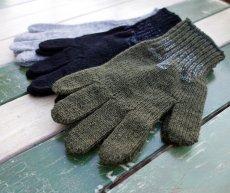 画像5: 手袋 ウール アメリカ製 ROTHCO社 グローブ/黒 オリーブ グレー (5)