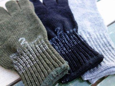 画像1: 手袋 ウール アメリカ製 ROTHCO社 グローブ/黒 オリーブ グレー