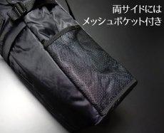 画像5: トートバッグ メンズ 大容量 大きめ ミリタリー ナイロン MA-1 / ブラック (5)