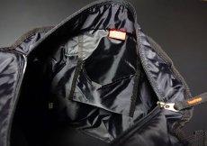 画像4: トートバッグ メンズ 大容量 大きめ ミリタリー ナイロン MA-1 / ブラック (4)