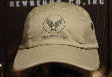 画像2: キャンプキャップ 帽子 ミリタリー エアフォース ROTHCO ロスコ ブランド /ベージュ (2)