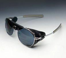 画像1: ROTHCO サングラス バイク ウィンドガード アビエイター 風防付き ミリタリー 新品 / ブラック 黒 (1)