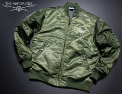 画像2: MA-1 フライトジャケット メンズ メンフィスベル 爆弾エアフォース モデル オリーブドラブ