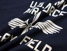 """画像4: アウトレット品 LOWRY FIELD """"ARMYエアフォース米陸軍航空隊"""" ミリタリー 長袖 Tシャツ L (4)"""