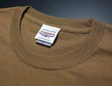 画像7: 極厚 スーパーヘビーウェイト ミリタリー Tシャツ USMA マリンアカデミー モデル / カーキーブラウン (7)