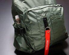 画像10: MA-1 タイプ バックパック ROTHCO ロスコ 社製 デイバッグ ナイロン / オリーブドラブ (10)