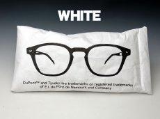 画像6: サングラス 眼鏡 ソフトケース デュポン社 タイベック生地使用 / 白 黒 茶 (6)