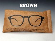 画像7: サングラス 眼鏡 ソフトケース デュポン社 タイベック生地使用 / 白 黒 茶 (7)