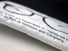 画像12: サングラス 眼鏡 ソフトケース デュポン社 タイベック生地使用 / 白 黒 茶 (12)