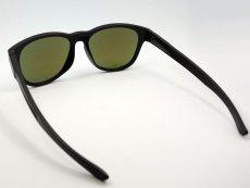 画像6: ブルーミラー サングラス マットブラック ウェリントン 黒 青ミラー 新品 (6)