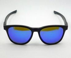 画像4: ブルーミラー サングラス マットブラック ウェリントン 黒 青ミラー 新品 (4)