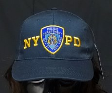 画像3: キャップ 帽子 ニューヨーク 警察 POLICE 刺繍 ROTHCO ロスコ NYC公認 /ネイビー 紺 (3)