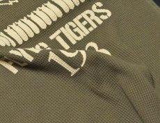 画像6: ミリタリー サーマル ワッフル 生地 長袖 Tシャツ AVGフライングタイガース /オリーブ (6)