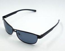 画像5: 偏光 レンズ サングラス UVカット メンズ イージーライダー / ブラック 黒 (5)