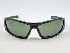画像5: 偏光レンズ 鼻あて付き バイク シェイド バイク サングラス / スモークグリーン (5)