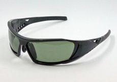 画像6: 偏光レンズ 鼻あて付き バイク シェイド バイク サングラス / スモークグリーン (6)