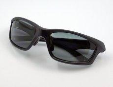 画像5: 偏光レンズ 鼻あて付き バイク シェイド バイク サングラス / スモーク (5)