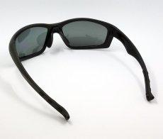画像4: 偏光レンズ 鼻あて付き バイク シェイド バイク サングラス / スモーク (4)