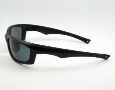 画像3: 偏光レンズ 鼻あて付き バイク シェイド バイク サングラス / スモーク (3)